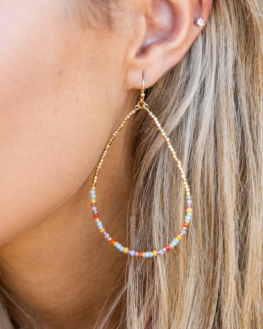 Tinsley Earrings - Light Multi