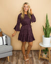 Too Busy Dancing Dress - Purple