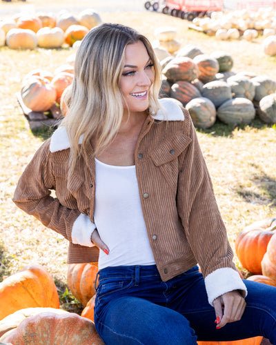 Traveling Countryside Jacket - Taupe