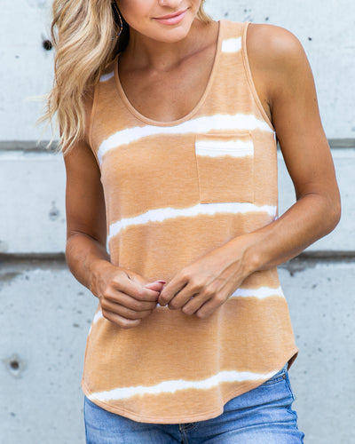 Undeniable Charm Tank - Honey