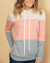 Up For The Journey Hoodie - Pink