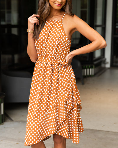 Upper East Side Dress - Copper