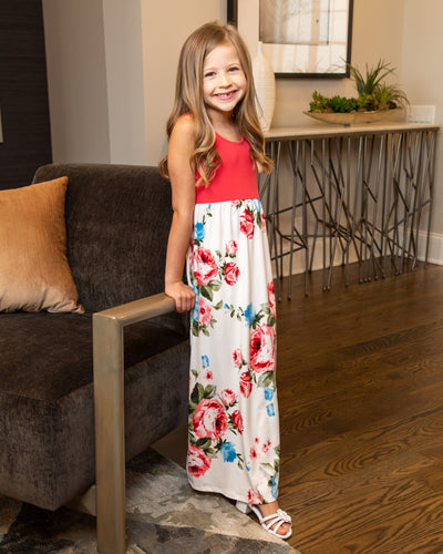 Vacation Ready Maxi - Coral