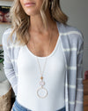 Veda Statement Necklace - Blush