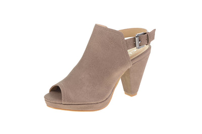 Chinese Laundry Wake Up Peep-Toe Booties - Stone