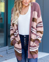 Wander Through Town Cardigan - Multi