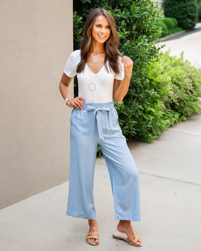 Warm Breeze Pants - Light Blue