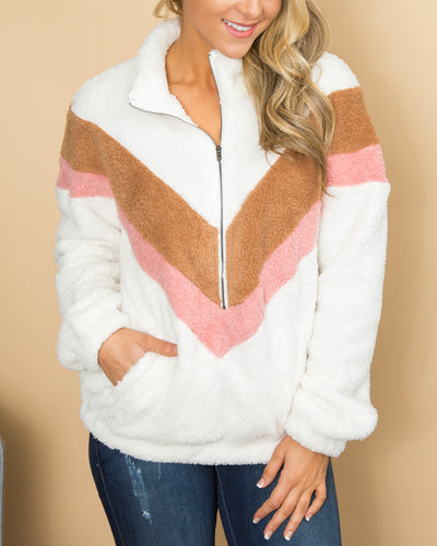 Warm For The Winter Pullover - Ivory
