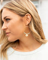 Waverly Hoop Earrings - Mint