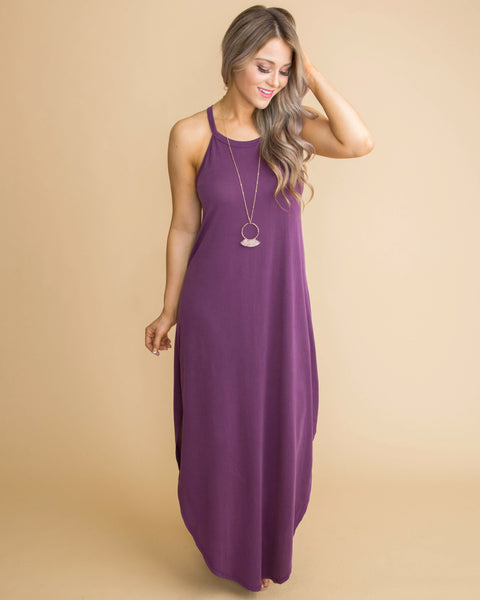 We Always Knew Maxi Dress - Purple