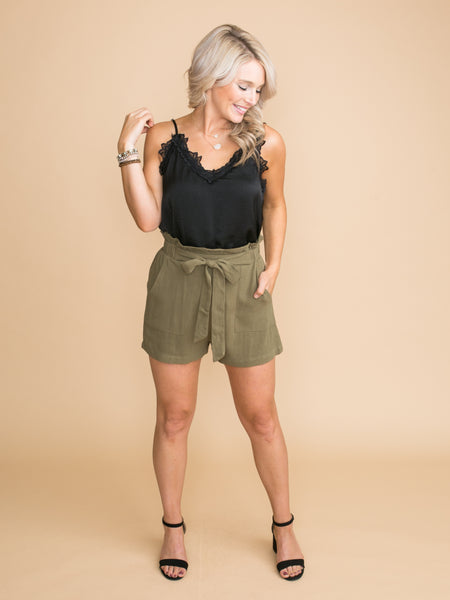 We've Thought About It Shorts - Olive