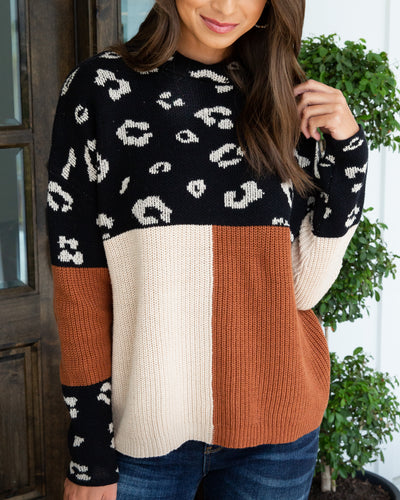 Weekend Out West Sweater - Black Multi