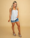 Weekend Dreaming Stripe Tank - Multi