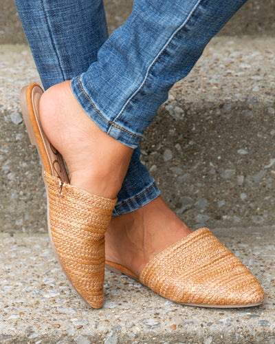 Willow Mules - Sandstone