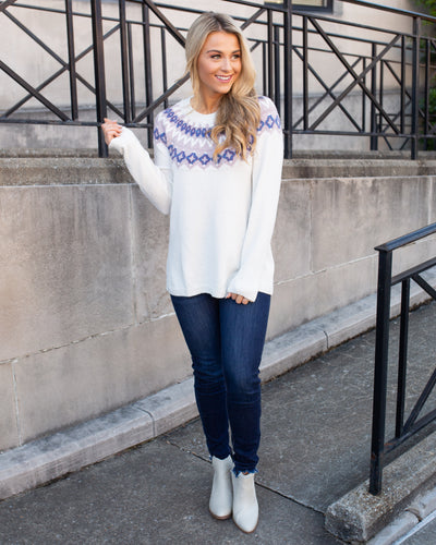 On A Whim Sweater - Cream