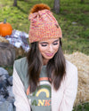 Windy Nights Beanie - Orange Multi