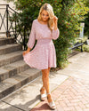 Your Best Day Floral Dress - Blush
