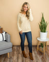 Never Ending Romance Sweater - Cream