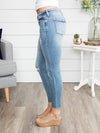 Amelia Distressed Skinny Jeans - Medium Wash