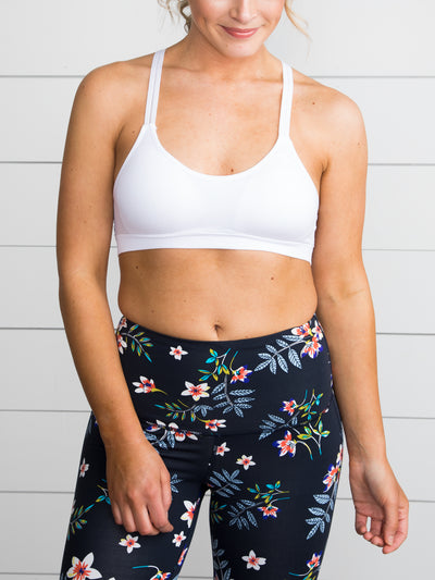 Embrace Energy Sports Bra - Off White