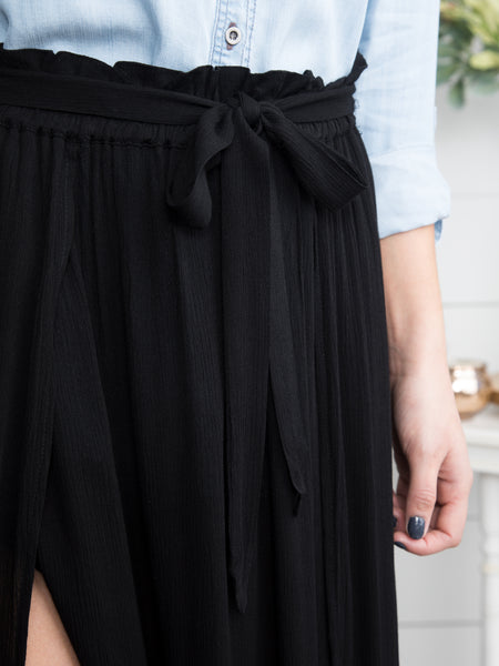 It's Always Been You Maxi Skirt - Black