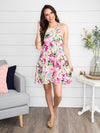 Making Time For You Floral Dress - Blush