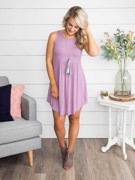 Here In My Heart Dress - Lilac