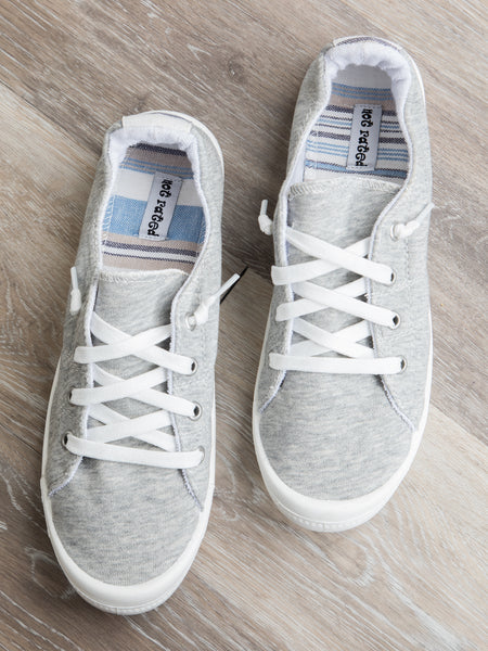 The Baylee Sneaker - Grey