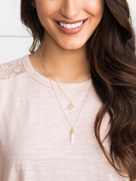 Kendra 2 Tiered Necklace - Gold