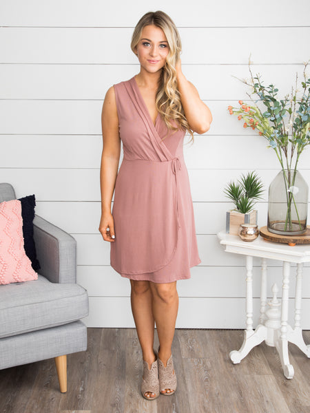 All My Heart Dress - Mauve