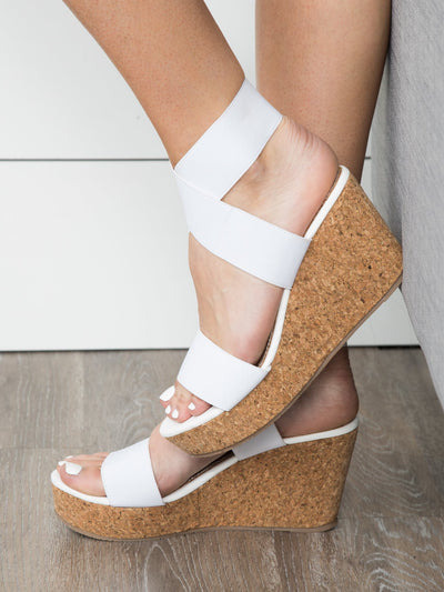 Sierra Wedge - Off White