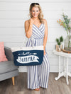 Hello Summer Tote Bag - Blue
