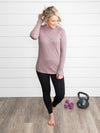 No Limits Pullover - Dusty Purple