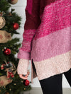Unforgettable Striped Sweater - Berry Mix