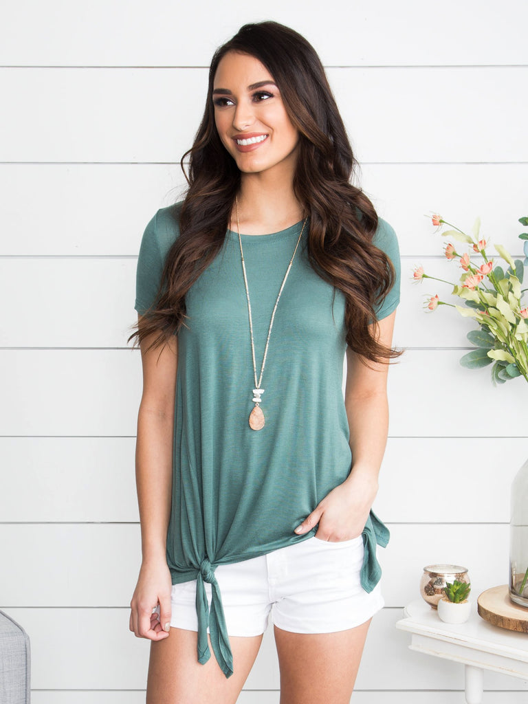 It's A Tie Knot Tee - Green