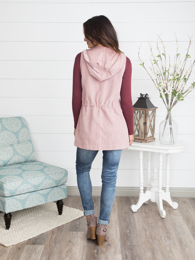 Stand Your Ground Vest - Blush