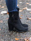 My Go To Tassel Bootie - Black