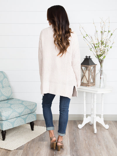 Snow Daze Cardigan - Cream