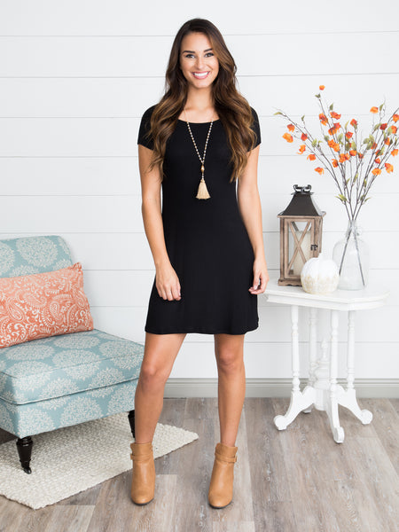First Priority Dress - Black