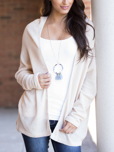 The Studio Cardigan - Ivory