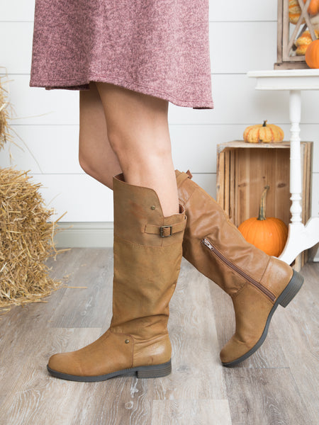 Cameron Riding Boot - Bourbon