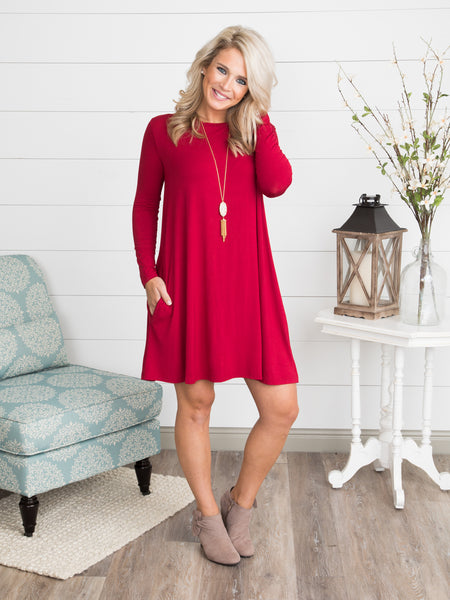 The Morgan Everyday Dress - True Red