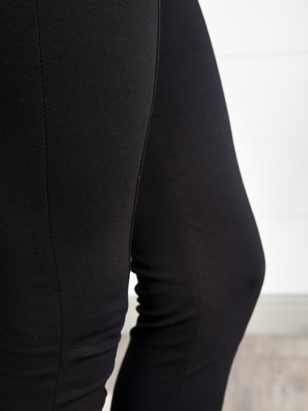 On Ponte Pants - Black