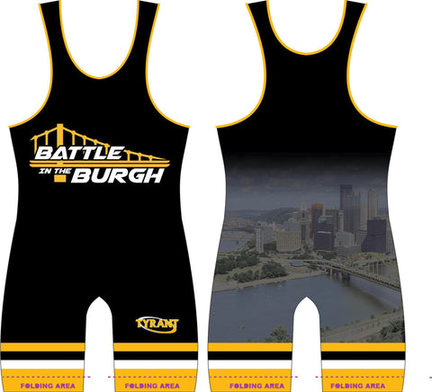 Battle in the Burgh Sublimated Singlet