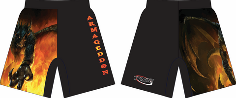 Armageddon Sublimated Shorts
