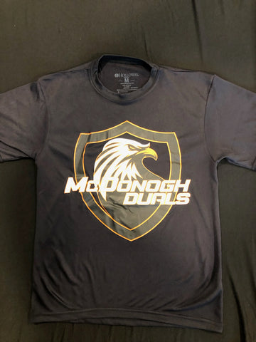 McDonogh Duals-S/S Performance Tee (Black)