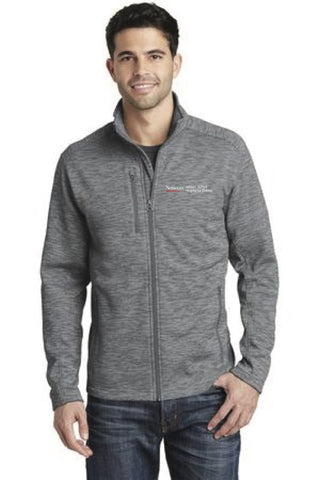 Digi Stripe Fleece Jacket Men's