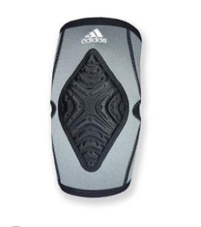 Ak102 Adidas Wrestling Kneepad - grey/black