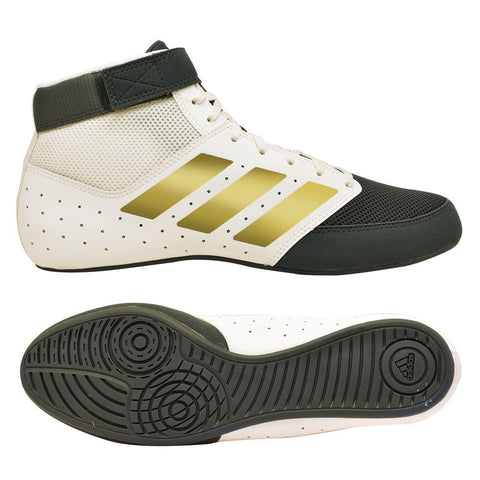Adidas Mat Hog 2.0 White/Black/Gold 12.0