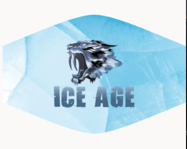 Ice Age Face Mask
